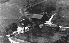 Aerial photograph, Robert Stiles farm