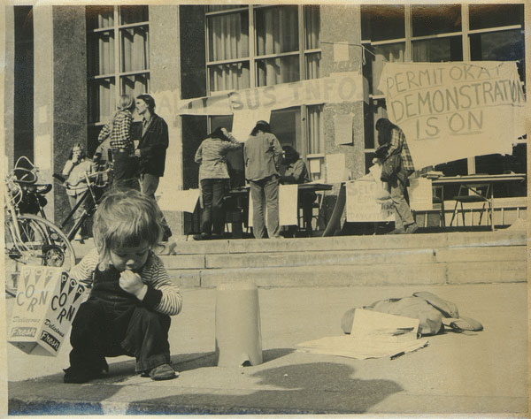 Photograph, UMASS Student Union, 1975