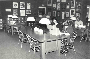 Sophia Smith Collection and College Archives Reading Room